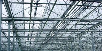 greenhouse roof aluminum gutter